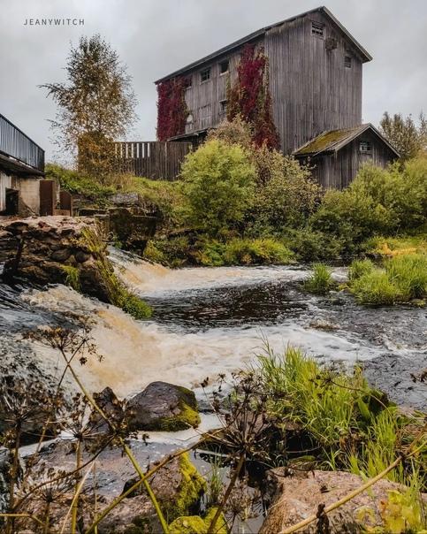 Финская водяная мельница. Гончарово▬▬▬▬▬▬▬▬ Постро...