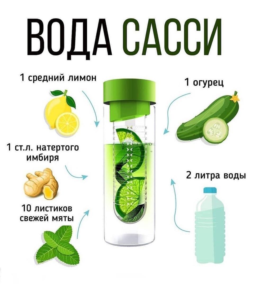 Вода Сасси — это приятный вкусный напиток, употребление которого помогает очистить организм!