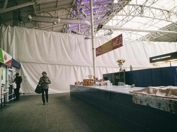 На Губернском рынке в Самаре на входе не требуют Q...