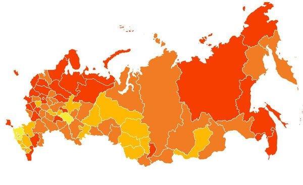 """Самарская область попала в """"коричневый пояс"""" реги..."""